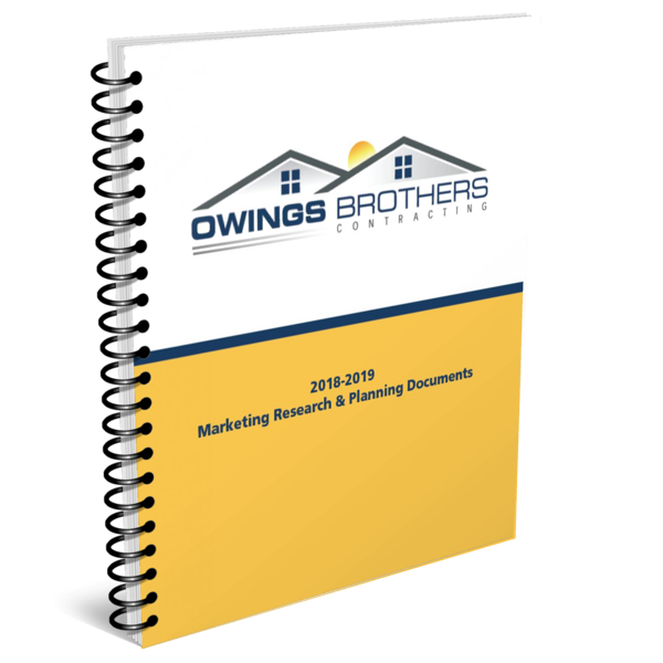 Owings Brothers Contracting-marketing plan