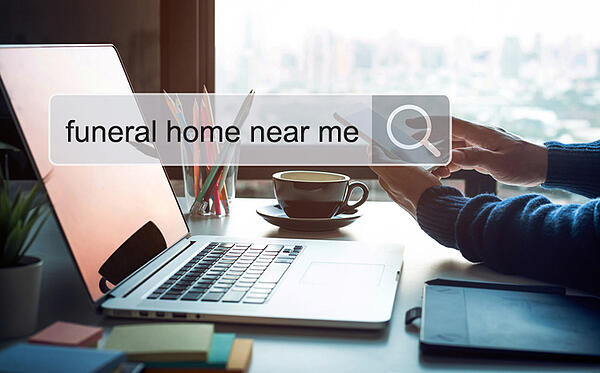 searching funeral home near me